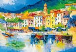 Wizard + Genius Wallpaper Wall Mural 00112 Riviera Ligure By Colemans